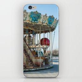 Carrousel du Touquet, Boulevard of the beach iPhone Skin