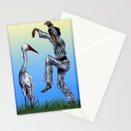 Crane Kick vs. Crane Stationery Cards