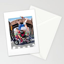 SimpHoo and CoolNoodle_NYC_HondaMoney Stationery Cards