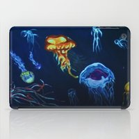 jelly fish iPad Cases featuring Jelly-Jelly-Fish by Fknjedi1
