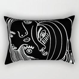 Double-faced Rectangular Pillow