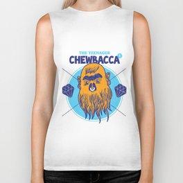 Hipster Chewie Biker Tank