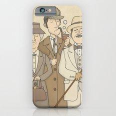 The Detectives - Miss Marple, Sherlock Holmes, Hercule Poirot Slim Case iPhone 6s
