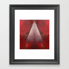 FX#411 - Red Pyramid GO! Framed Art Print