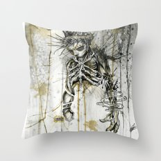 Wasted. Once Again.  Throw Pillow