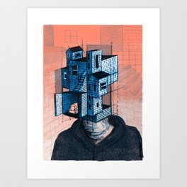 Househead 1 Art Print