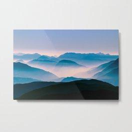 Pale Morning Light Metal Print