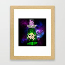 Fly Me to the Moon! Framed Art Print