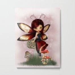 Little Ladybug Metal Print