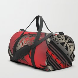 Horse Nation (Red) Duffle Bag