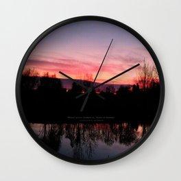 """HOME"" By Laura Banusic & Luka Bunic Wall Clock"