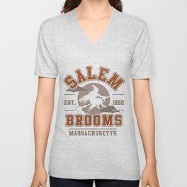 Salem Brooms Unisex V-Neck