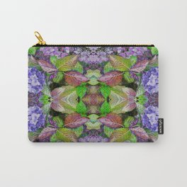 AUTUMN HYDRANGEA MANDALA Carry-All Pouch