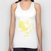 los angeles Tank Tops featuring Los Angeles by ARTITECTURE