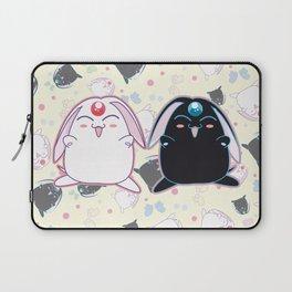 Black & White Mokona Laptop Sleeve