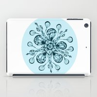 snowflake iPad Cases featuring Snowflake by Laura Maxwell