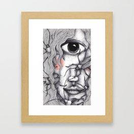 Cyclops Girl  Framed Art Print