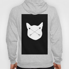 Inverted Cat Arrows Hoody
