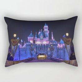 Sleeping Beauty's Castle Rectangular Pillow