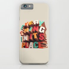 Everything In Its Place iPhone 6s Slim Case