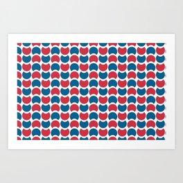 Hob Nob America Art Print