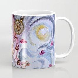 Musical Goddess Saraswati - Healing Art Coffee Mug