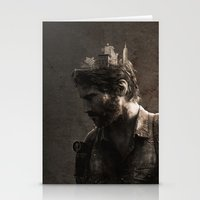 the last of us Stationery Cards featuring The Last Of Us by MCMLXXXV DESIGN