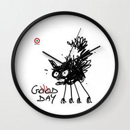 CAT, good day Wall Clock