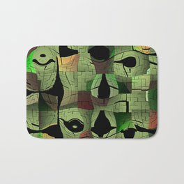 The puzzle Bath Mat