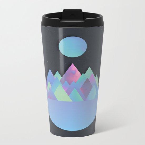 Moon Peaks Alternative Metal Travel Mug