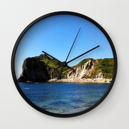 West Lulworth cove Wall Clock