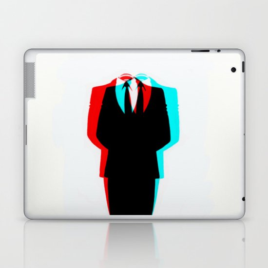 Anonymous.1 Laptop & iPad Skin