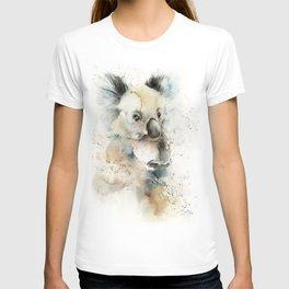 Koala loose style watercolor painting T-shirt