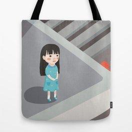 Just a girl at heart Tote Bag