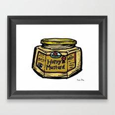 Honey Mustard Framed Art Print
