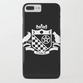 Cabot Crest Hermetic White/Black iPhone Case