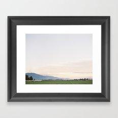 Sunrise over Tahoe Framed Art Print
