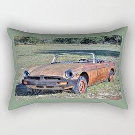 MG B Rectangular Pillow