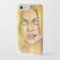 bad wolf iPhone & iPod Cases featuring Bad Wolf by JenHoney