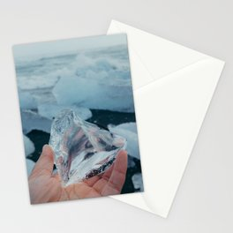 ice from iceland Stationery Cards
