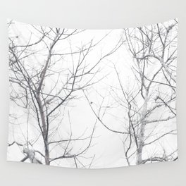 Faded Winter... Tree Branches Wall Tapestry