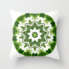 Greenery No. 4 Throw Pillow