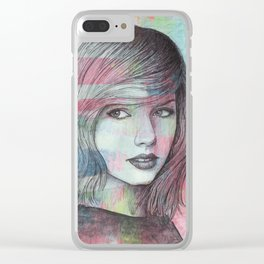 Taylor - Wildest Dreams Clear iPhone Case