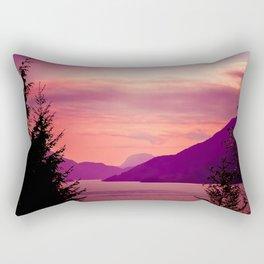 Sunset Sea to Sky Rectangular Pillow