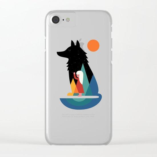 Best Friend Clear iPhone Case