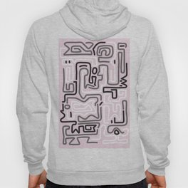 Tokyo Mon Amour - Pink Winter Hoody