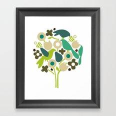 birdy num num Framed Art Print