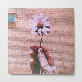 Pastel Flower Metal Print