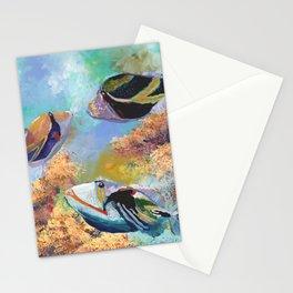 Humuhumu Tropical Fish 3 Stationery Cards