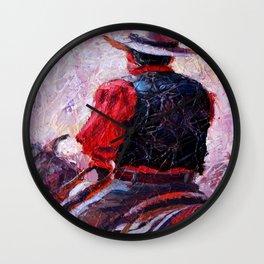 Cowboy # 2 Wall Clock